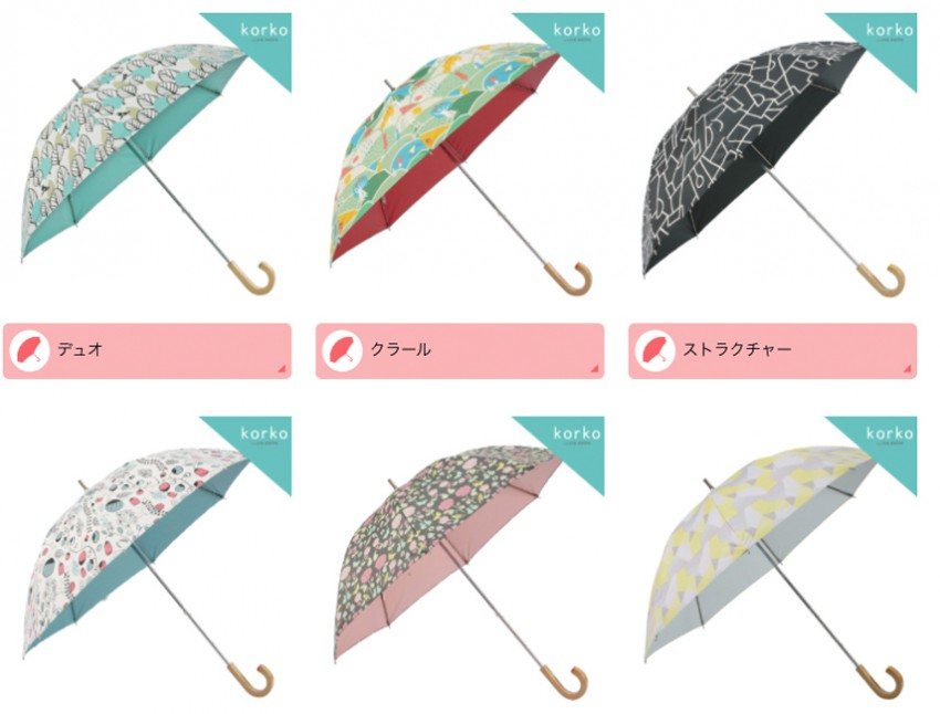 Tina-Backman-surface pattern umbrellas Owaga