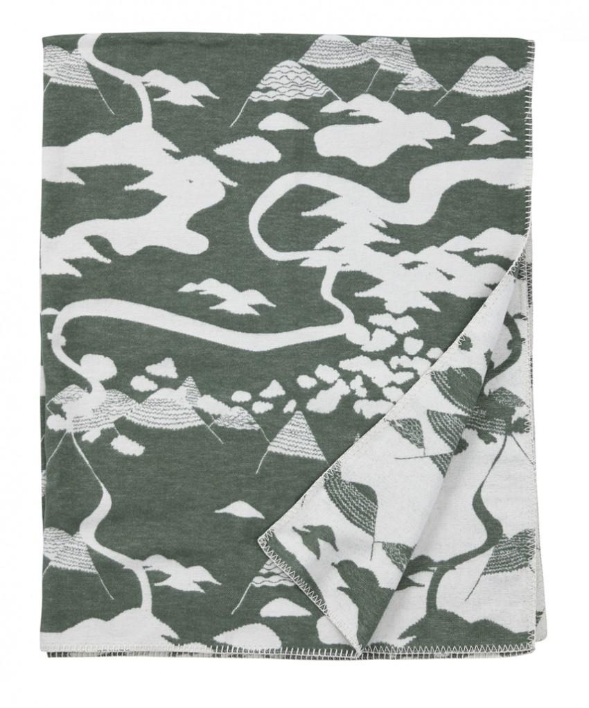 Blanket Mountains forest Tina Backman Klippan
