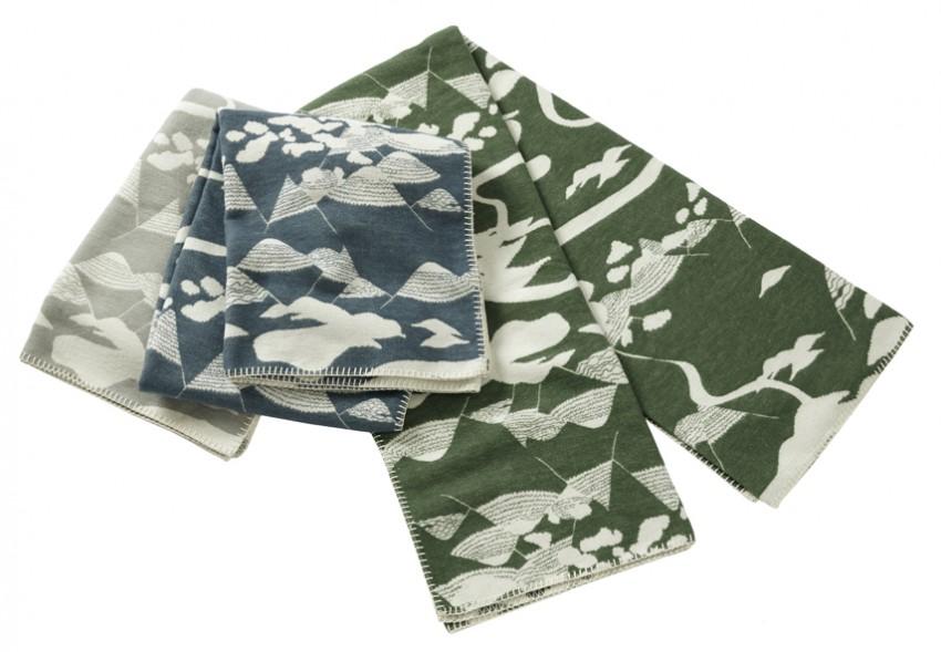 Blanket Smalandsskog Tina Backman Klippan