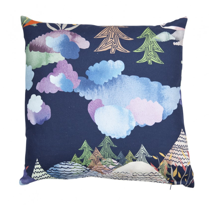 Cushion cover Smalandsskog Tina Backman Klippan