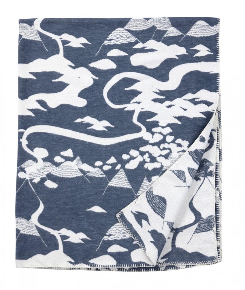 Mountains smokey blue Smalandsskog Tina Backman Klippan