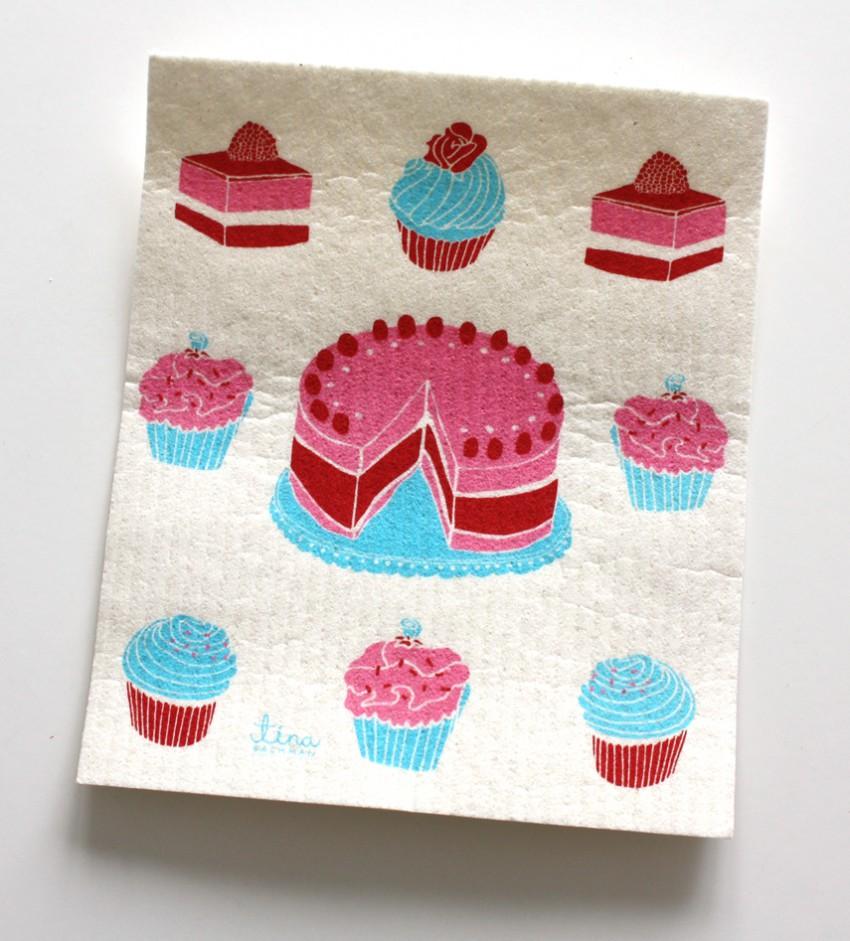 Cookies dishcloth Tina Backman