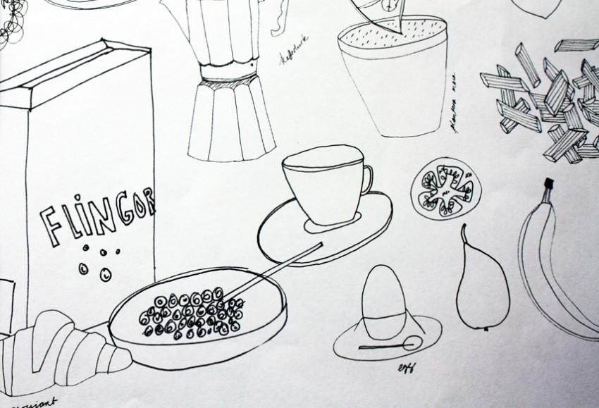 Drawing prework Tina Backman